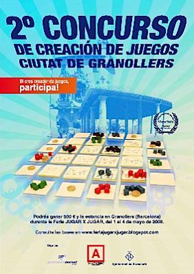 Concurso de creación de juegos de Granollers