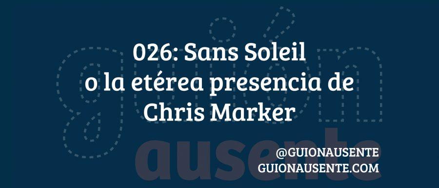 Sans Soleil o la etérea presencia de Chris Marker